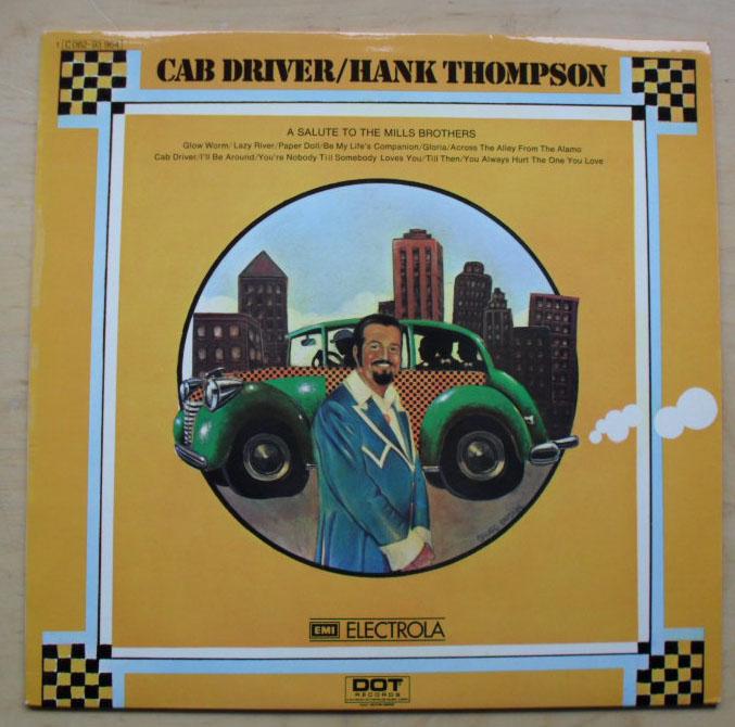 HANK THOMPSON - CAB DRIVER