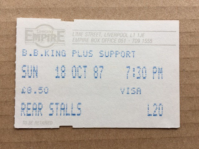 B B KING - LIVERPOOL EMPIRE