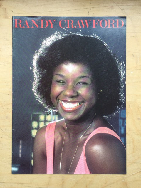 RANDY CRAWFORD - 1987? - Programme Concert