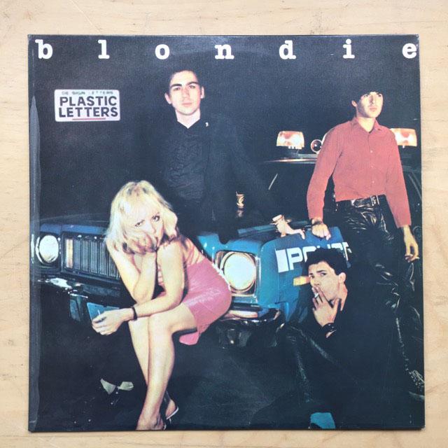 blondie plastic letters port