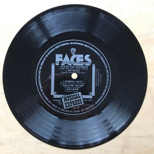 FACES - NME FLEXI DISC