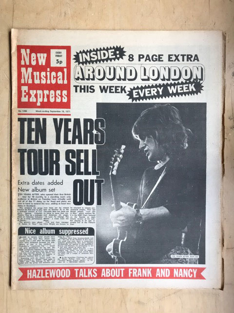 TEN YEARS AFTER - NME - Magazine