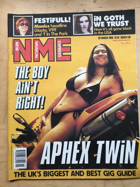 APHEX TWIN - NME - Magazine