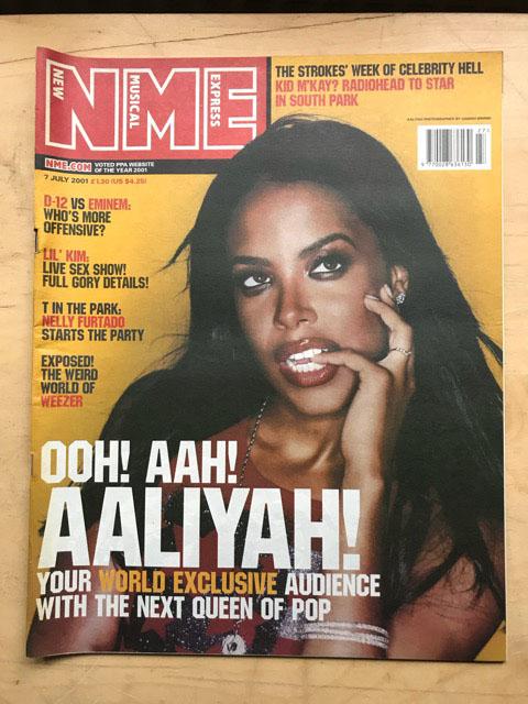 AALIYAH - NME