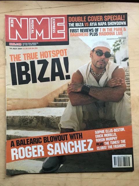 ROGER SANCHEZ - NME - Magazine