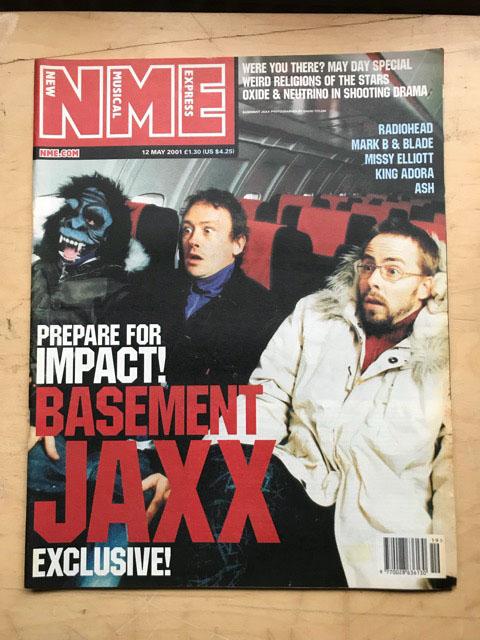 BASEMENT JAXX - NME - Magazine