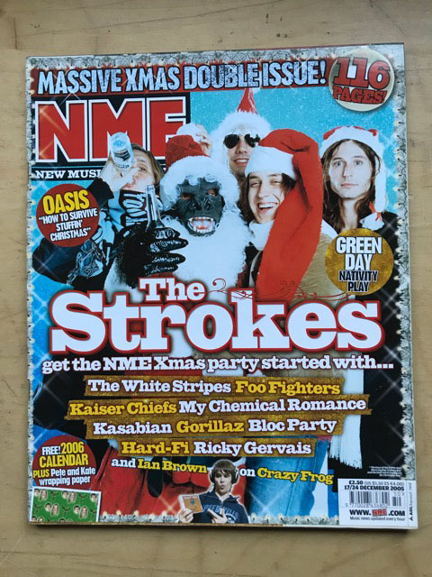 STROKES - NME - Magazine