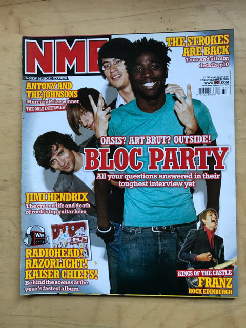 BLOC PARTY - NME - Magazine