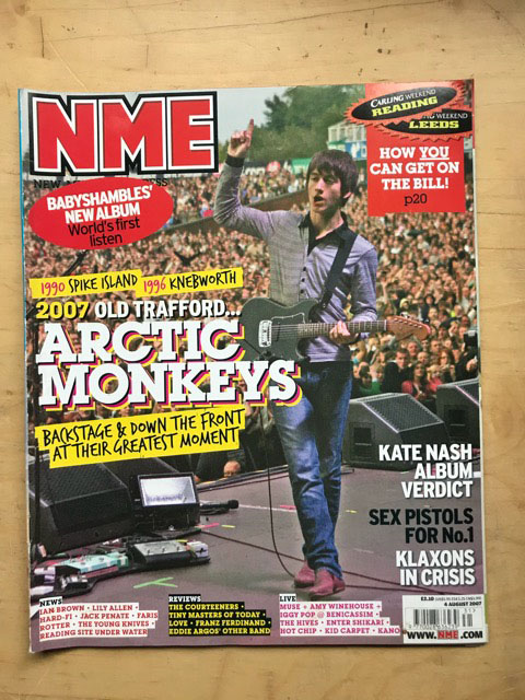 ARCTIC MONKEYS - NME - Magazine