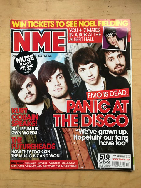 PANIC AT THE DISCO - NME