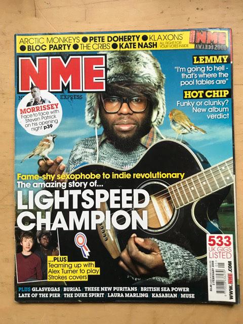 LIGHTSPEED CHAMPION - NME - Magazine