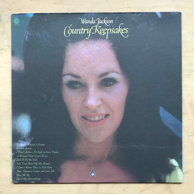 WANDA JACKSON - COUNTRY KEEPSAKES