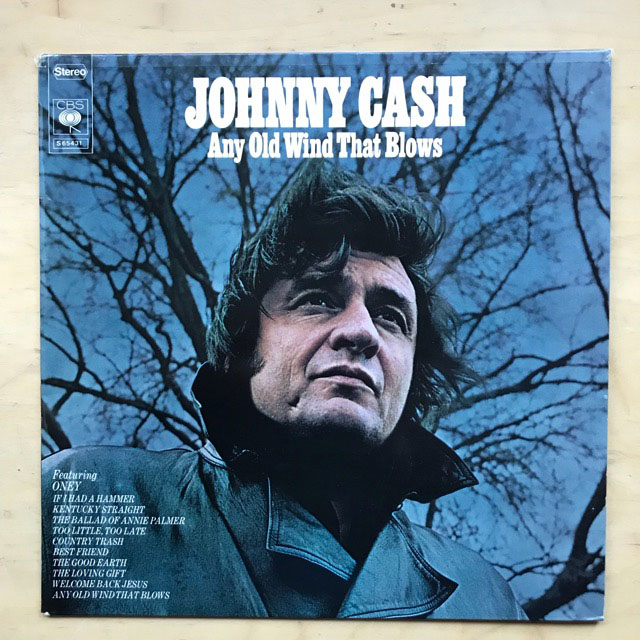 JOHNNY CASH - Any Old Wind That Blows Record