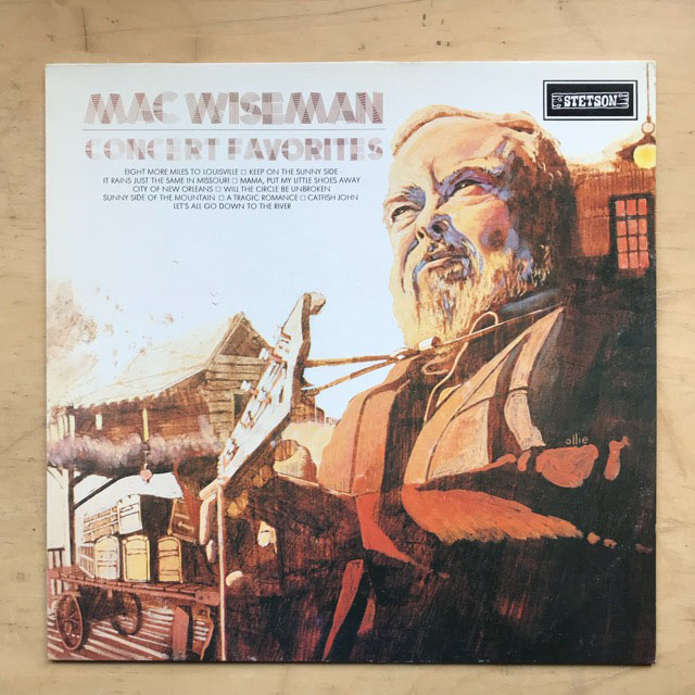 MAC WISEMAN - CONCERT FAVOURITES