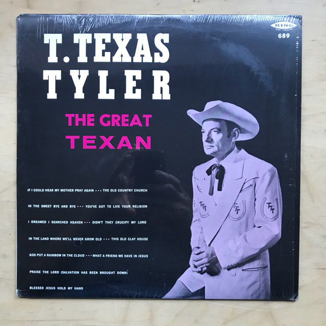 T TEXAS TYLER - The Great Texan
