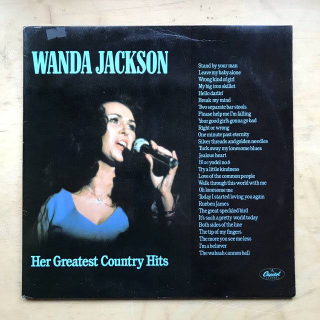 WANDA JACKSON - HER GREATEST COUNTRY HITS