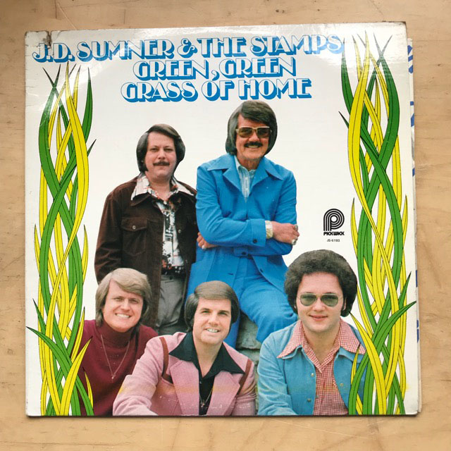 J D SUMNER & THE STAMPS - GREEN GREEN GRASS OF HOME