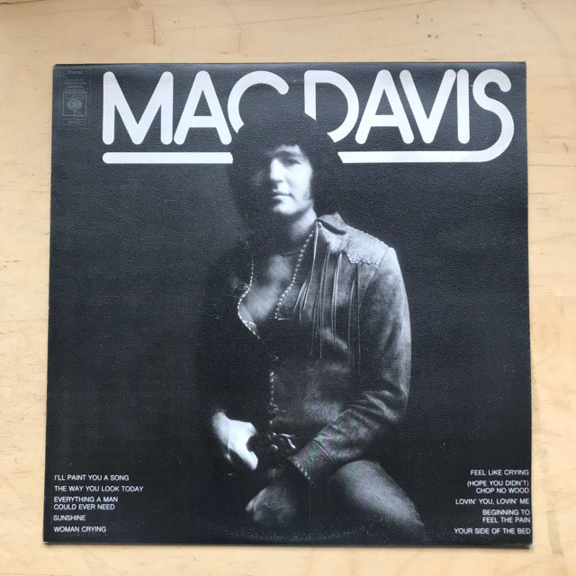 MAC DAVIS - MAC DAVIS