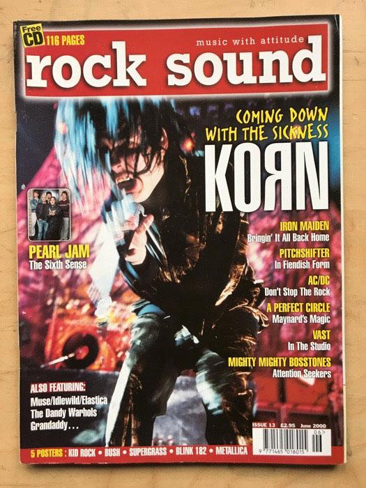 KORN ROCK SOUND #13