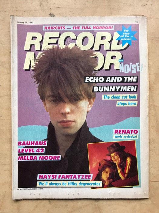ECHO & THE BUNNYMEN - RECORD MIRROR