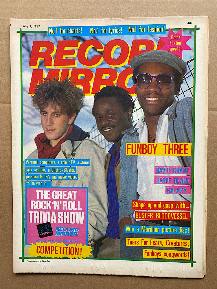 FUN BOY THREE - RECORD MIRROR
