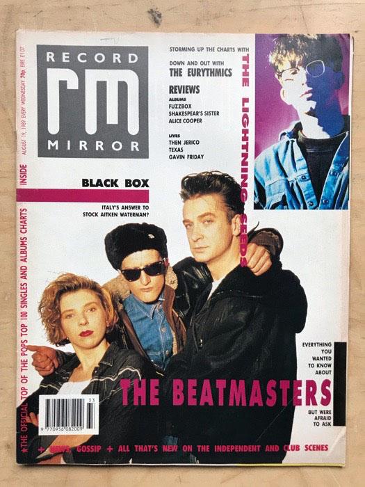 BEATMASTERS - RECORD MIRROR - Magazine