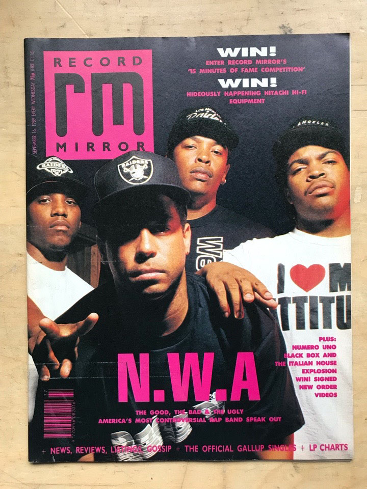N.W.A - RECORD MIRROR - Magazine