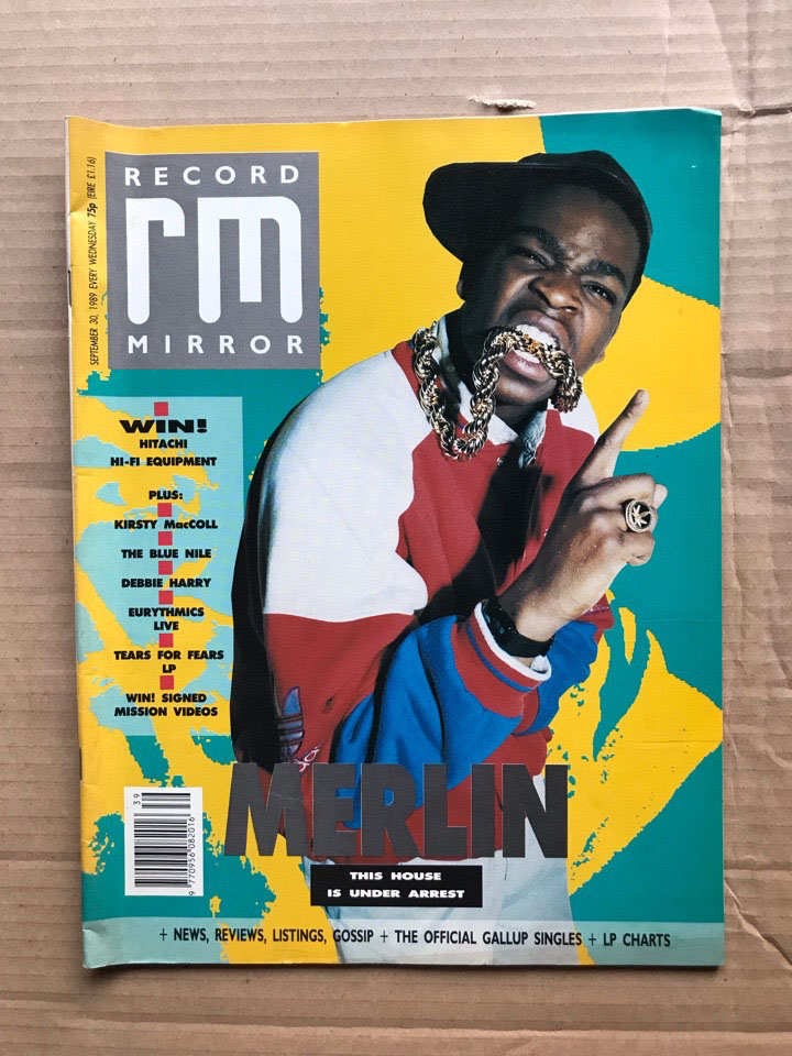 MERLIN - RECORD MIRROR - Magazine