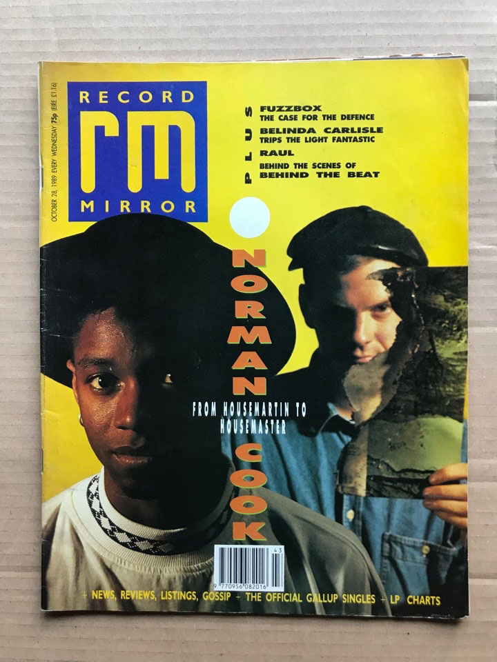 NORMAN COOK - RECORD MIRROR - Magazine