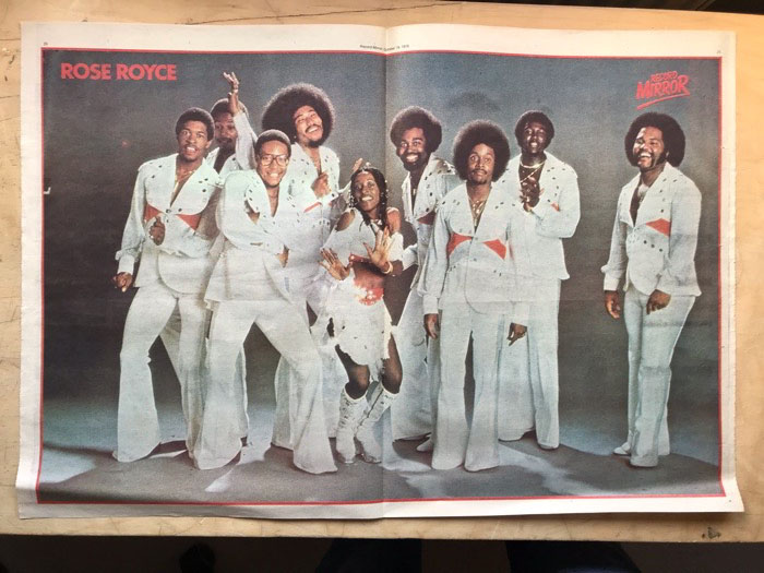 ROSE ROYCE - COLOUR PIN-UP - Poster / Display