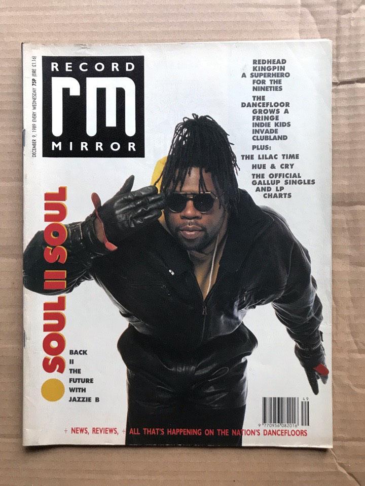 SOUL II SOUL - RECORD MIRROR - Magazine