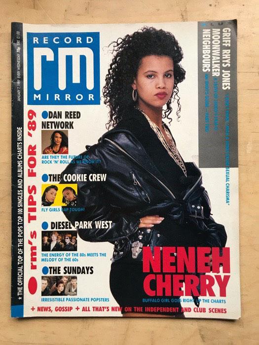 NENEH CHERRY - RECORD MIRROR - Magazine