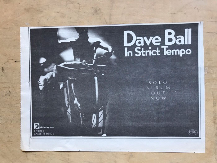 In Strict Tempo - DAVE BALL