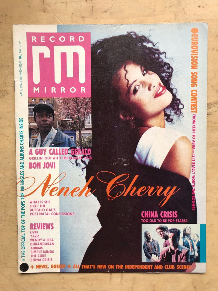 NENEH CHERRY - RECORD MIRROR - Magazine