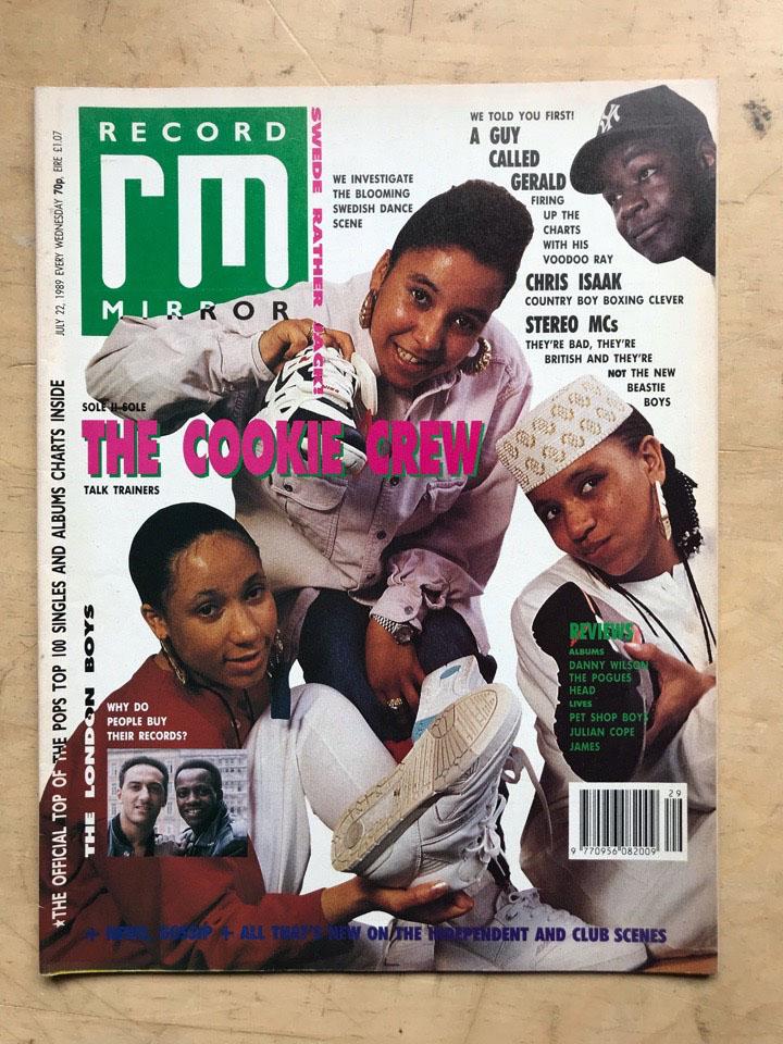 COOKIE CREW - RECORD MIRROR - Magazine