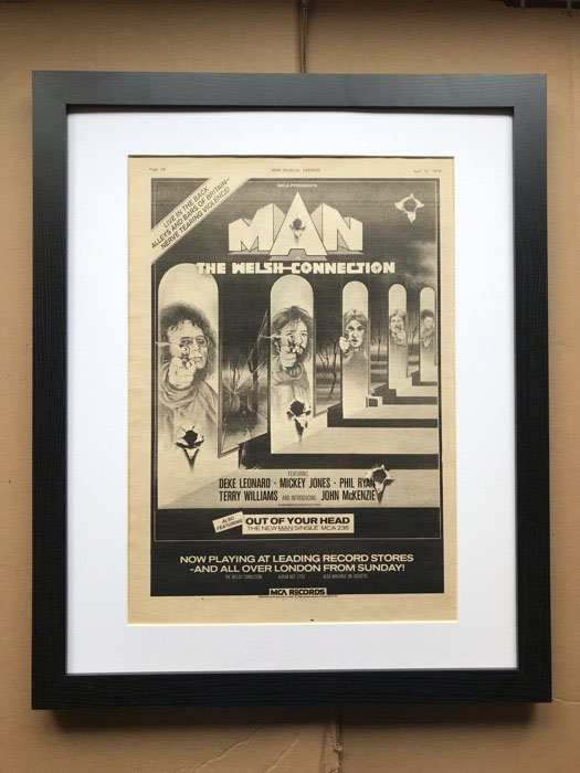 MAN - WELSH CONNECTION (FRAMED) - Poster / Display