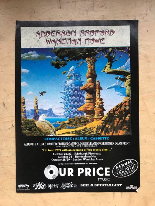 ANDERSON BRUFFORD WAKEMAN HOWE - ALBUM - Others