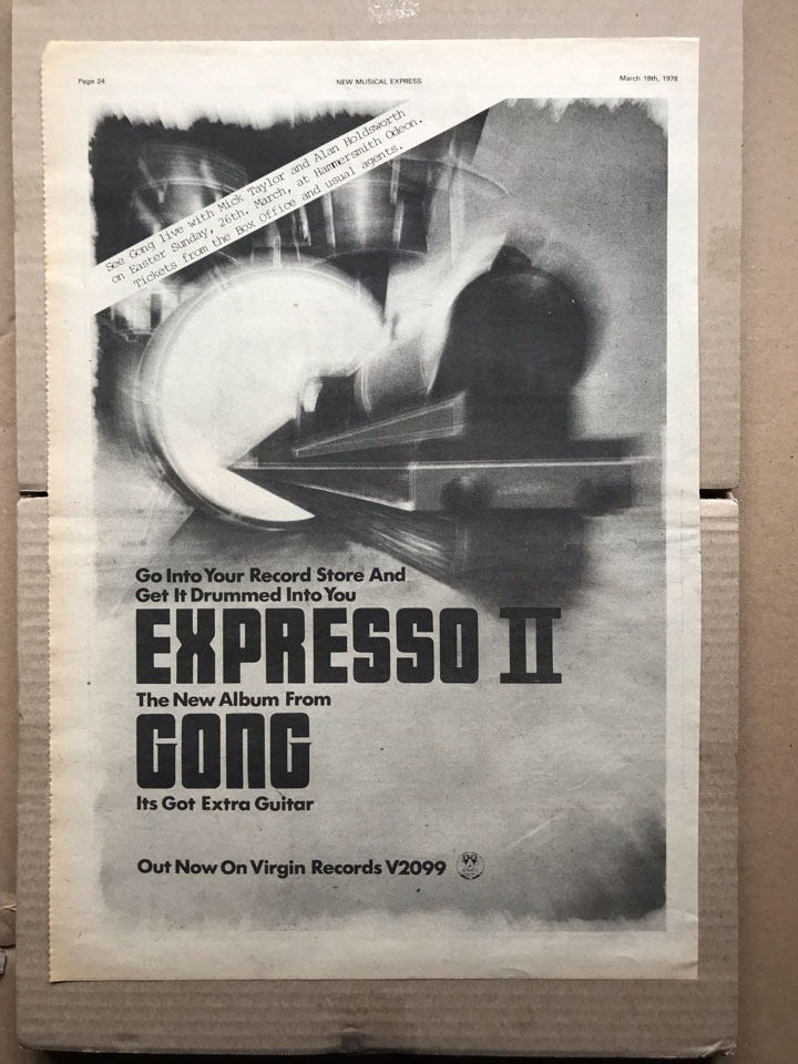 GONG - EXPRESSO II - Poster / Display