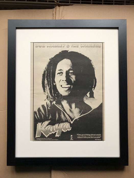 BOB MARLEY - KAYA (A)(FRAMED) - Poster / Display