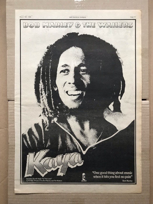 BOB MARLEY - KAYA (A) - Poster / Affiche