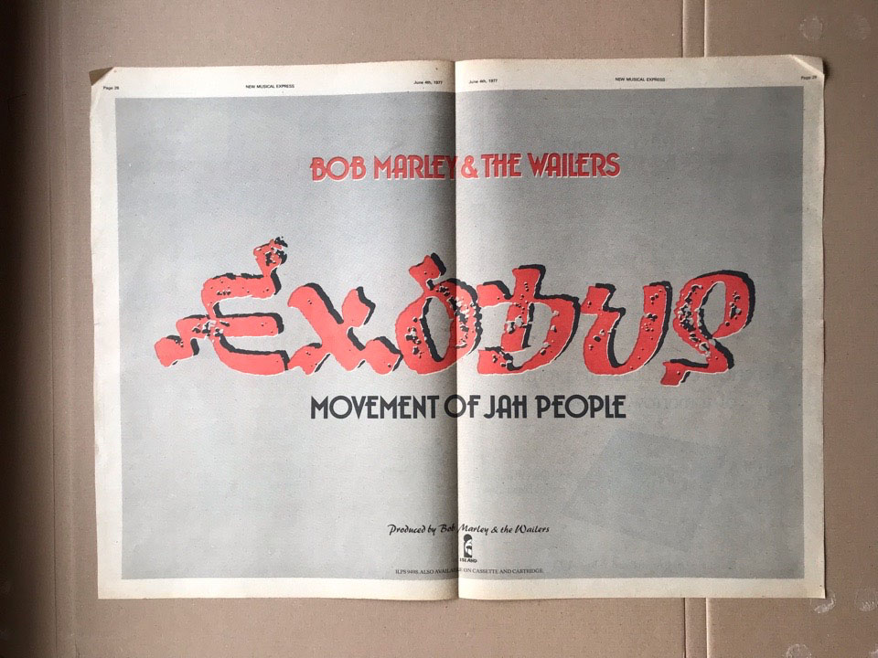 BOB MARLEY - EXODUS - Poster / Display