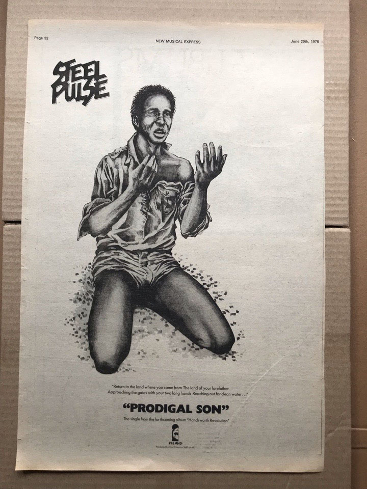 STEEL PULSE - PRODIGAL SON (A) - Poster / Affiche
