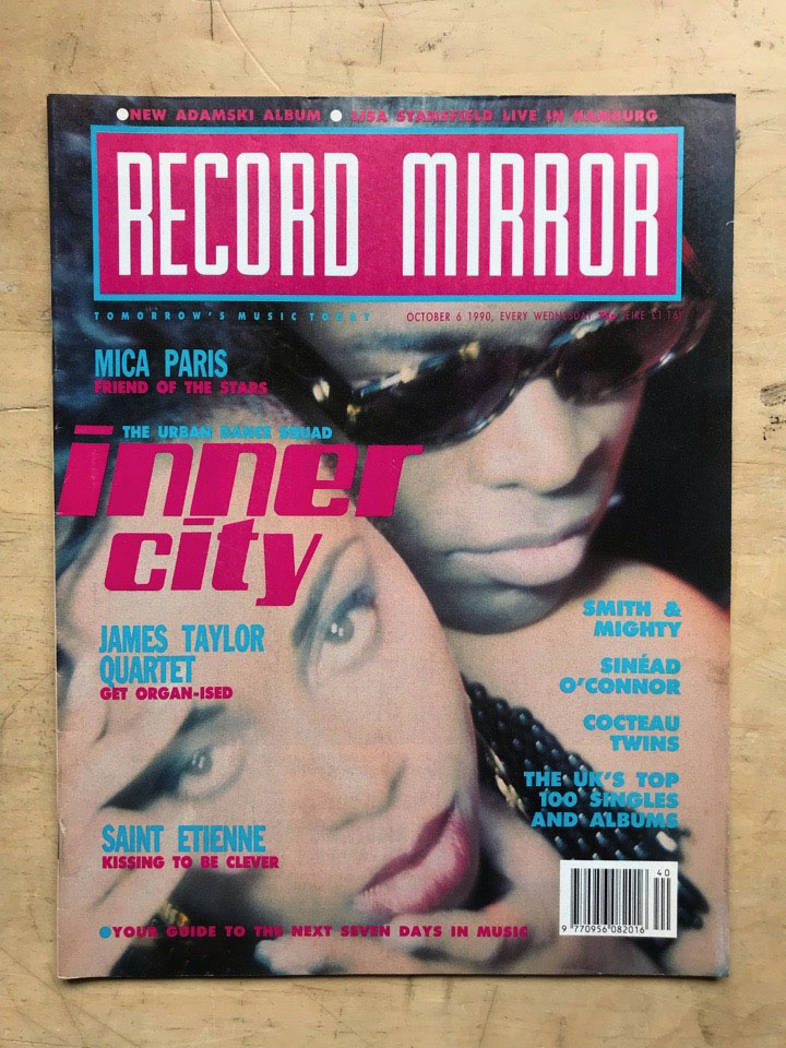 INNER CITY - RECORD MIRROR - Magazine