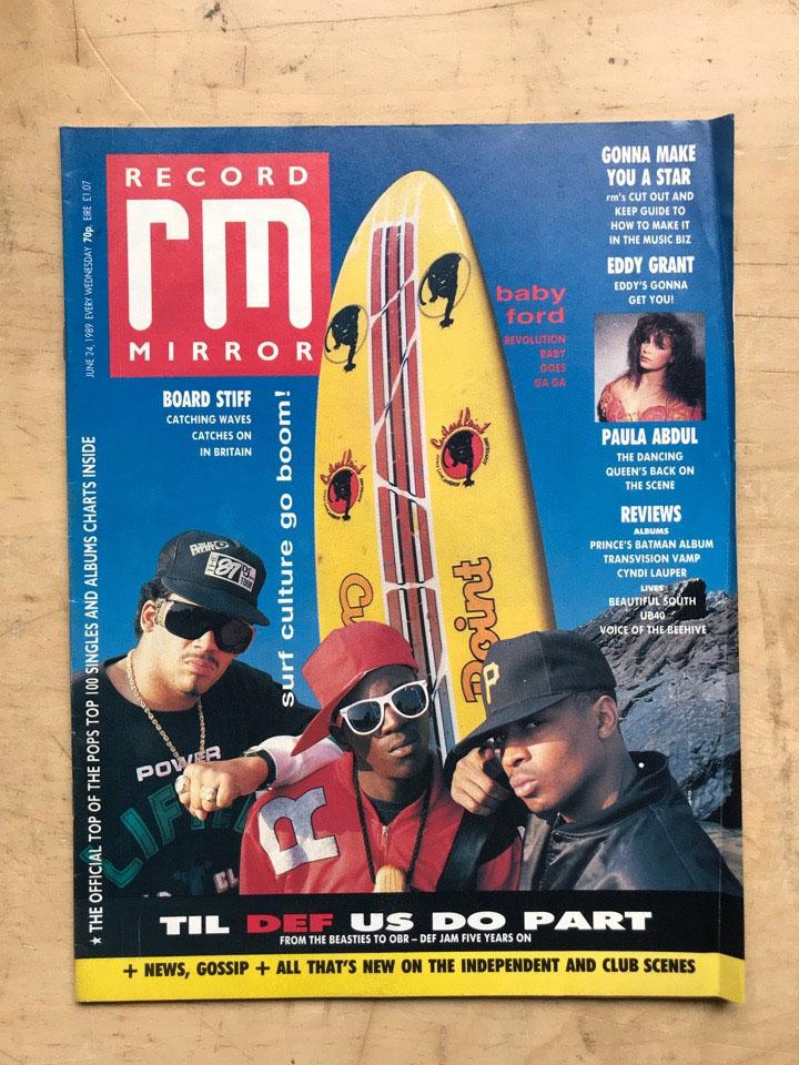 PUBLIC ENEMY - RECORD MIRROR - Magazine