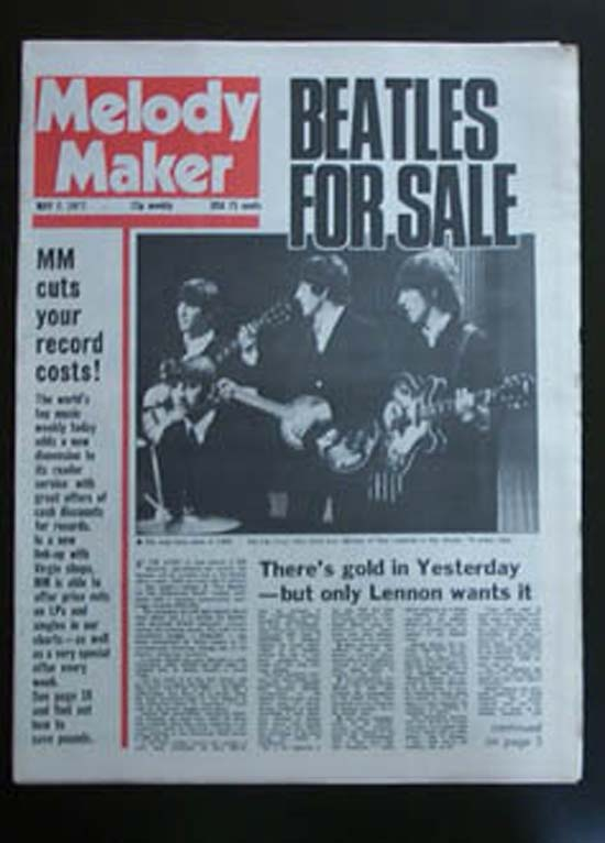 Beatles Melody Maker Records Lps Vinyl And Cds Musicstack
