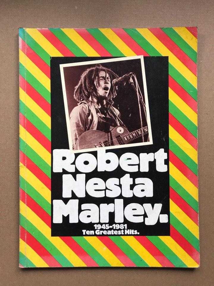 BOB MARLEY - 1945-1981 TEN GREATEST HITS - Book