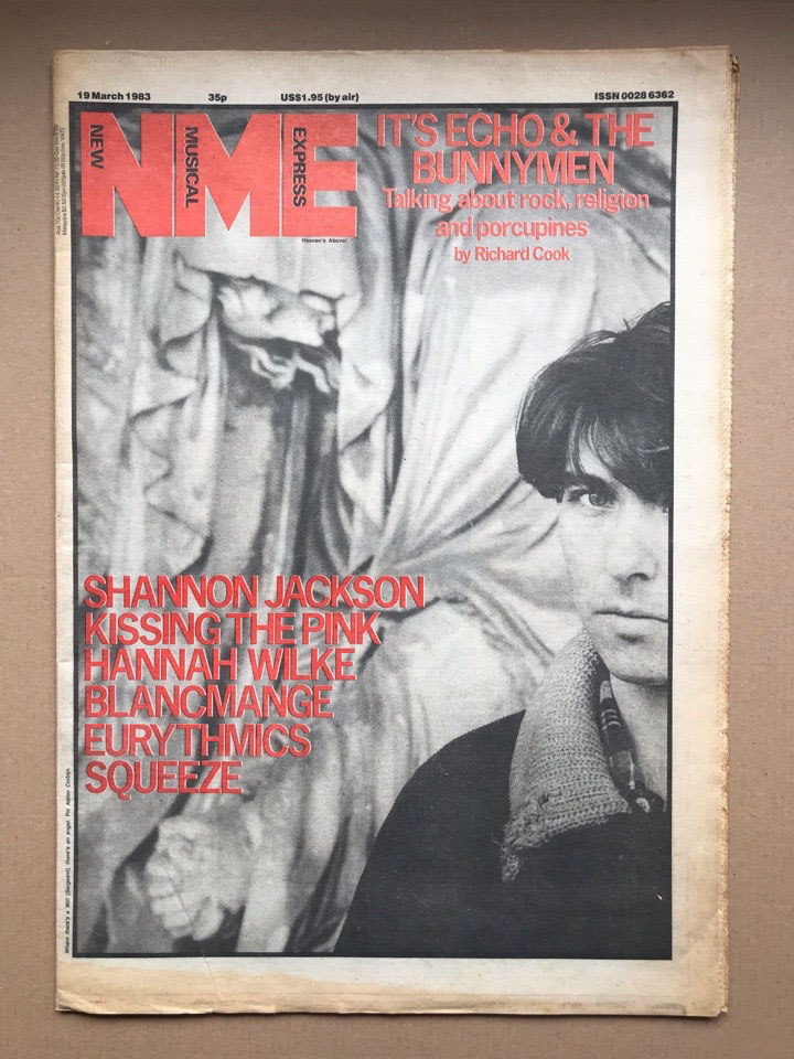 ECHO & THE BUNNYMEN - NME
