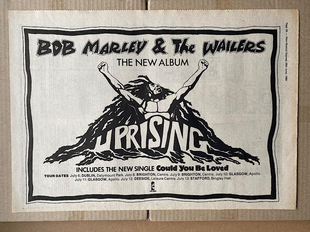 BOB MARLEY - UPRISING - Poster / Affiche