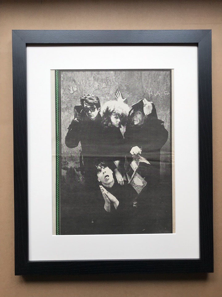 CRAMPS - BLACK AND WHITE PIN-UP (FRAMED) - Poster / Affiche