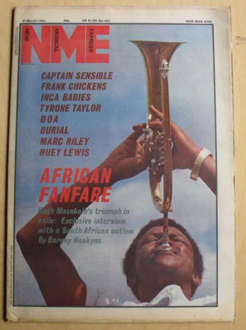 HUGH MASAKELA - NME - Magazine